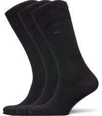 ck 3pk eric cotton 003 underwear socks regular socks svart calvin klein
