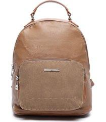 mochila marrón sei