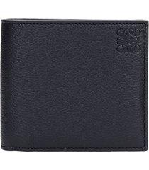 loewe wallet in black leather