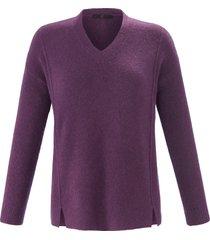 trui met lange mouwen van emilia lay paars