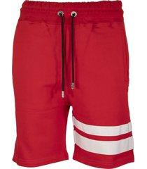 gcds logo shorts red