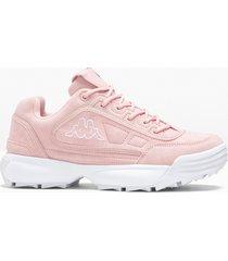 sneaker con plateau kappa (rosa) - kappa