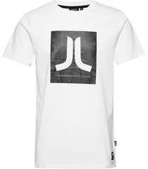 box icon t-shirt t-shirts short-sleeved vit wesc