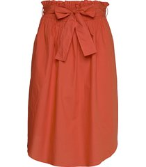 skirt knälång kjol orange noa noa