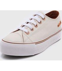 zapatilla blanca coca-cola shoes atlanta plataforma leather