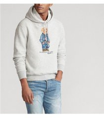 polo ralph lauren men's cp-93 bear fleece hoodie