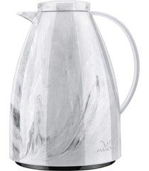 bule tã©rmico viena ceramic branco com gatilho 1l - invicta - branco - dafiti