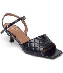 sandals 2627 shoes heels pumps sling backs svart billi bi