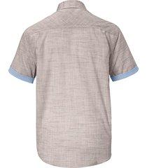 kortärmad skjorta babista beige