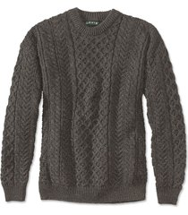 black sheep irish fisherman's sweater / black sheep irish fisherman's sweater, 2xl