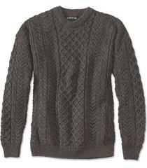 black sheep irish fisherman's sweater / black sheep irish fisherman's sweater, 2xl
