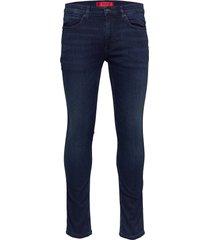 hugo 734 skinny jeans blå hugo