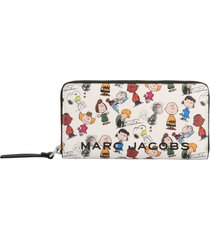 marc jacobs peanuts x the snapshot compact wallet