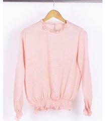 blusa rosa nano gala