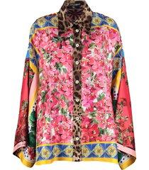 dolce & gabbana silk twill shirt