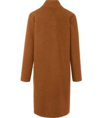 gebreide jas van 100% scheerwol met lange mouwen van portray berlin oranje
