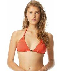 bikini top radiant chain triangle