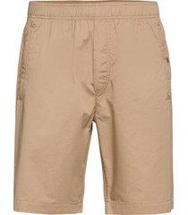 alfred twill shorts shorts casual beige wood wood