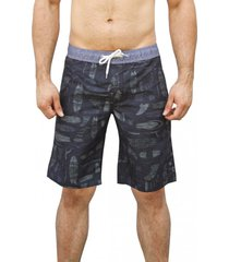 bermudas  estampado andesland outdoor apparel