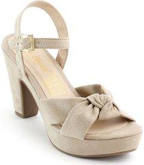 calzado dama tacon 182742beige
