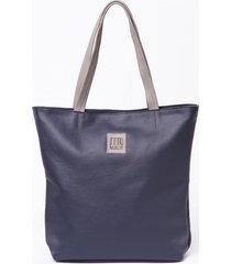 torba skórzana bluem look