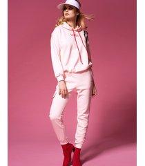 spodnie light pink