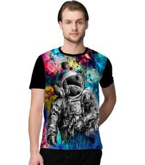 camiseta stompy crazy space masculina