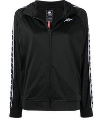 10 corso como logo-embroidered jacket - black