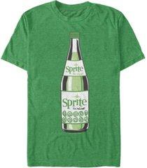 coca-cola men's classic sprite taste the natural short sleeve t-shirt