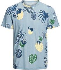 jack & jones t-shirt 12168895 jorflame blauw