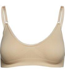 flora lingerie bras & tops bra without wire beige gai+lisva
