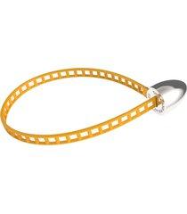 coral cylinder bracelet