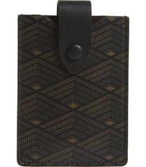 women's metier london small canvas card case -