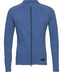 cloudspun w warm up jacket sweat-shirt tröja blå puma golf