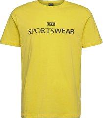 dragør tee t-shirts short-sleeved gul h2o