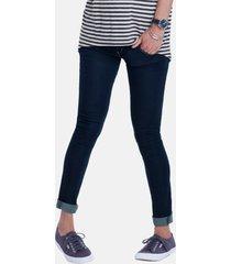 isabella oliver 'zadie' stretch maternity skinny jeans, size 1 in indigo at nordstrom
