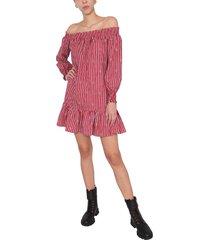 michael michael kors dress with bardot neck
