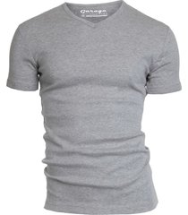 garage basis t-shirt v-hals semi bodyfit