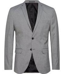 slhslim-mylologan light grey blz b noos blazer colbert grijs selected homme