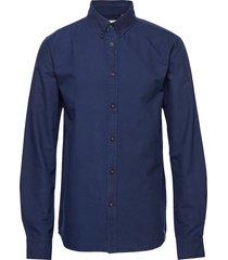akkonrad shirt skjorta casual blå anerkjendt