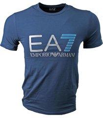 armani ea7 t-shirt navy met logo