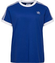 3 str tee t-shirts & tops short-sleeved blå adidas originals