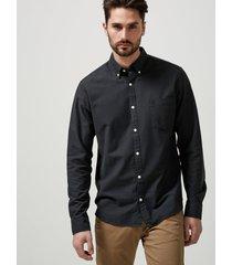 overhemd met lange mouwen oxford -