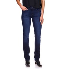 women's dl1961 'coco' curvy straight jeans, size 23 - blue