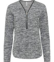maglia a maniche lunghe con cerniera (grigio) - rainbow