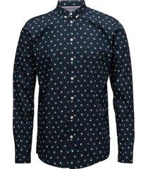 crest skjorta business blå minimum