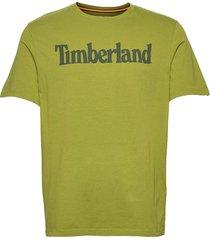 kennebec linear tee t-shirts short-sleeved grön timberland