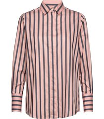 misha shirt overhemd met lange mouwen roze lexington clothing