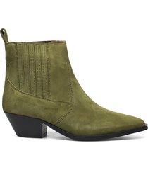 hunter suede chelsea 201 shoes chelsea boots grön royal republiq