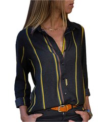 appositamente progettata per camicetta a maniche lunghe a maniche lunghe a 5 colori turca serie europea e americana